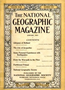 1915 National Geographic Magazine