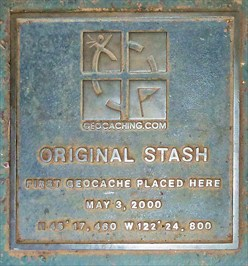 Geocache Plaque