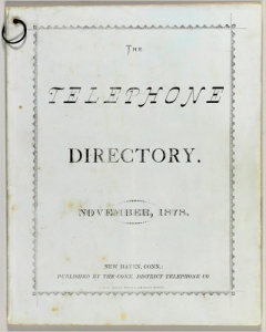 New Haven Directory 1878