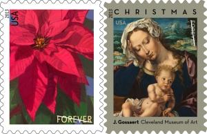 2013 Christmas Stamps