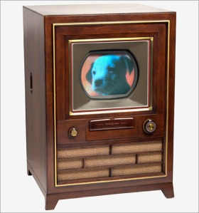 Early RCA Color TV