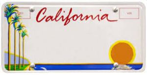 califlicenseplate